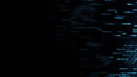 Fondo abstracto de la tecnología digital con datos, la cuenta y números ilustración del vector