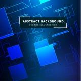 Fondo abstracto de la tecnología Estilo tecnológico futurista ilustración del vector