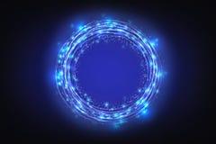 Fondo abstracto de la tecnología, innovador creativos, idea y concepto de pensamiento futurista Imagenes de archivo