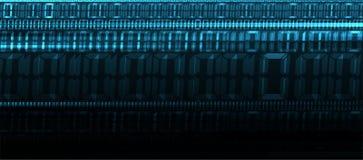Fondo abstracto de la tecnología Interfaz futurista de la tecnología fotos de archivo libres de regalías