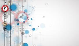 Fondo abstracto de la tecnología Interfaz futurista de la tecnología Foto de archivo