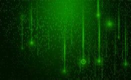 Fondo abstracto de la tecnología Lanzamiento de la matriz Background Fotografía de archivo libre de regalías