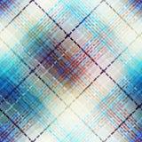 Fondo abstracto de la tela escocesa Fotografía de archivo