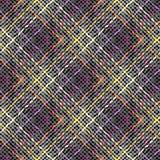 Fondo abstracto de la tela escocesa Foto de archivo libre de regalías