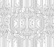 Fondo abstracto de la textura de la tarjeta de circuitos