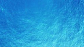 Fondo abstracto de la textura de la ondulación del agua azul metrajes