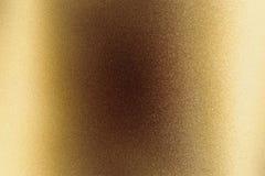 Fondo abstracto de la textura, placa de acero de bronce áspera que brilla intensamente imagen de archivo libre de regalías