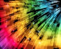 Fondo abstracto de la velocidad Imagen de archivo