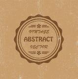 Fondo abstracto de la vendimia Foto de archivo libre de regalías