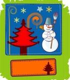 Fondo abstracto de la vertical de la Navidad libre illustration