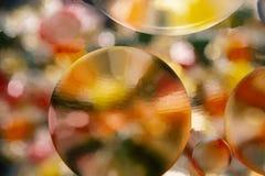 Fondo abstracto de las burbujas del color hermoso imagen de archivo