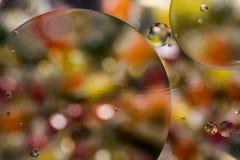 Fondo abstracto de las burbujas del color hermoso fotografía de archivo