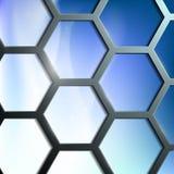 Fondo abstracto de las células Imágenes de archivo libres de regalías