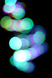 Fondo abstracto de las luces coloridas de la noche de la ciudad Fotos de archivo libres de regalías