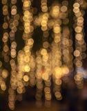 Fondo abstracto de las luces de la Navidad Fotos de archivo libres de regalías