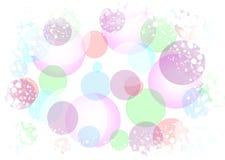 Fondo abstracto de las luces del día de fiesta Imágenes de archivo libres de regalías