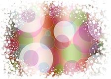Fondo abstracto de las luces del día de fiesta Fotografía de archivo libre de regalías