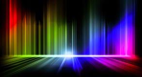 Fondo abstracto de las ondas coloridas libre illustration
