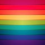 Fondo abstracto de las rayas coloridas del arco iris ilustración del vector