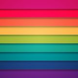 Fondo abstracto de las rayas coloridas del arco iris Fotos de archivo