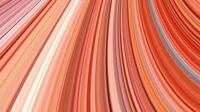 Fondo abstracto de las rayas coloridas, efecto estirado de los pixeles Imagen de archivo libre de regalías