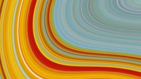 Fondo abstracto de las rayas coloridas, efecto estirado de los pixeles, ejemplo Fotos de archivo libres de regalías
