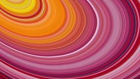 Fondo abstracto de las rayas coloridas, efecto estirado de los pixeles, ejemplo Imagen de archivo libre de regalías