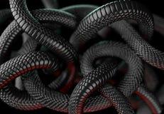Fondo abstracto de las serpientes libre illustration
