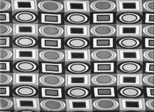 Fondo abstracto de los años 70. Foto de archivo libre de regalías