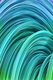 Fondo abstracto de los alambres coloridos Imagen de archivo