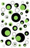 Fondo abstracto de los círculos Fotos de archivo