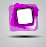 Fondo abstracto de los cuadrados del color Foto de archivo