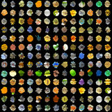 Fondo abstracto de los elementos 3D ilustración del vector