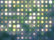 Fondo abstracto de los puntos ligeros Fotografía de archivo