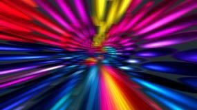 Fondo abstracto de los rayos coloridos para el web libre illustration