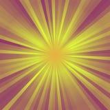 Fondo abstracto de los rayos de la explosión de la estrella del color Fotografía de archivo libre de regalías