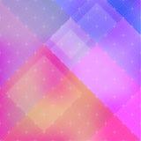 Fondo abstracto de los remiendos del color con textura geométrica Imagen de archivo libre de regalías