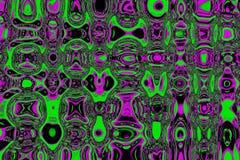 Fondo abstracto de los tintes magenta-verdes coloridos Imagen de archivo