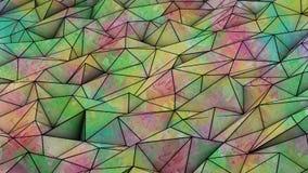 Fondo abstracto de los triángulos Ilustración del Vector