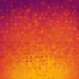Fondo abstracto de los triángulos de la pendiente Foto de archivo libre de regalías