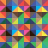 Fondo abstracto de los triángulos del color, diseño del vector Foto de archivo
