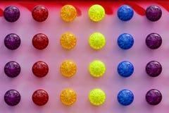 Fondo abstracto de luces coloridas brillantes imagen de archivo