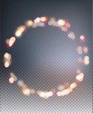 Fondo abstracto de luces defocused borrosas libre illustration