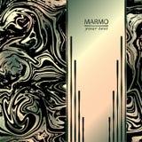 Fondo abstracto de mármol Mezcla de colores de moda Fondo abstracto de mármol hermoso stock de ilustración
