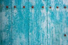 Fondo abstracto de madera azul foto de archivo