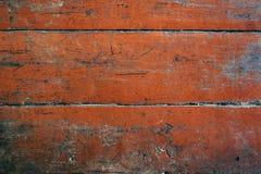 Fondo abstracto de madera rojo de la textura. Fotos de archivo libres de regalías