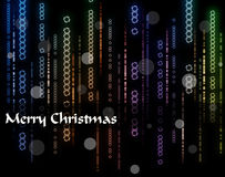 Fondo abstracto de Navidad Imagenes de archivo