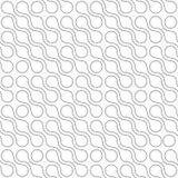 Fondo abstracto de puntos conectados en el arreglo diagonal en el fondo blanco Papel pintado del tema de la molécula inconsútil libre illustration