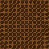 Fondo abstracto de puntos conectados en el arreglo diagonal Papel pintado del tema del chocolatte de Brown Vector inconsútil del  ilustración del vector