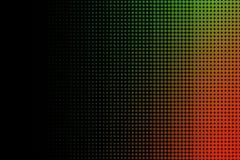 Fondo abstracto de semitono anaranjado y verde Fotos de archivo libres de regalías